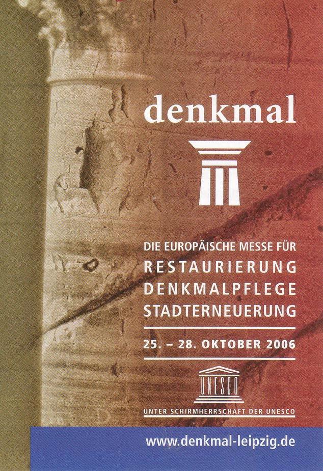 denkmalmesse 2006