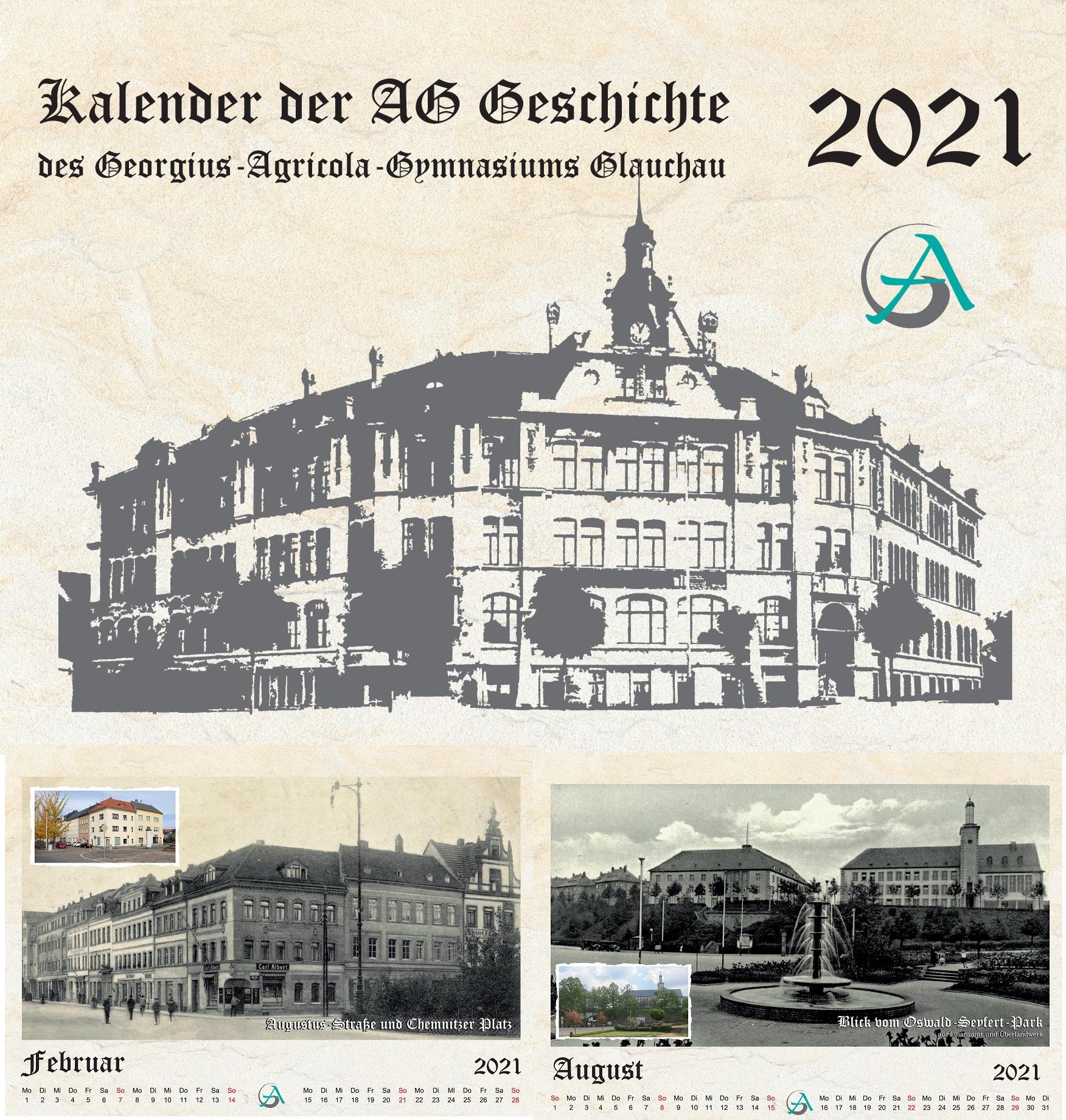 Kalender AG Geschichte 2021